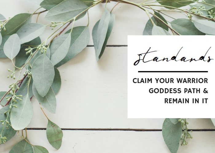 CLAIM YOUR WARRIOR GODDESS PATH & REMAIN IN IT