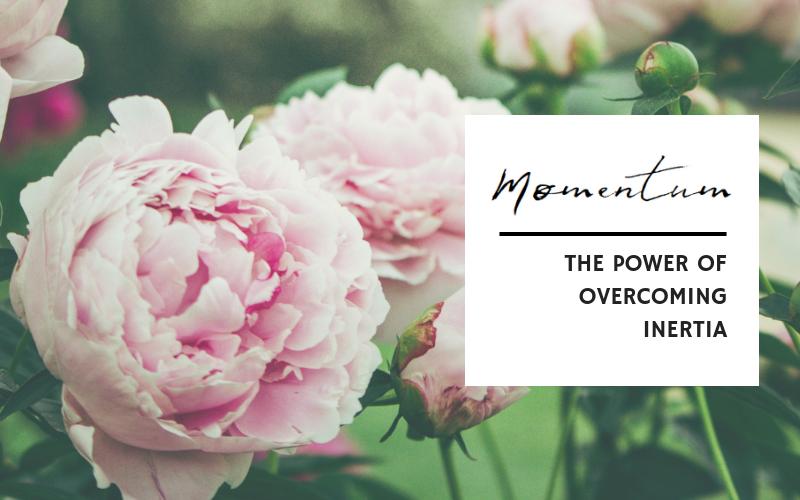 THE POWER OF OVERCOMING INERTIA